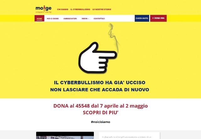 Sito internet Campagna SMS del Moige