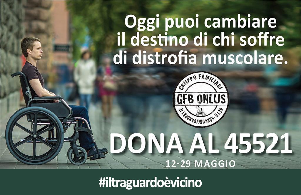 """Curiamoli 4.0"" la campagna sms solidale del GFB Onlus"