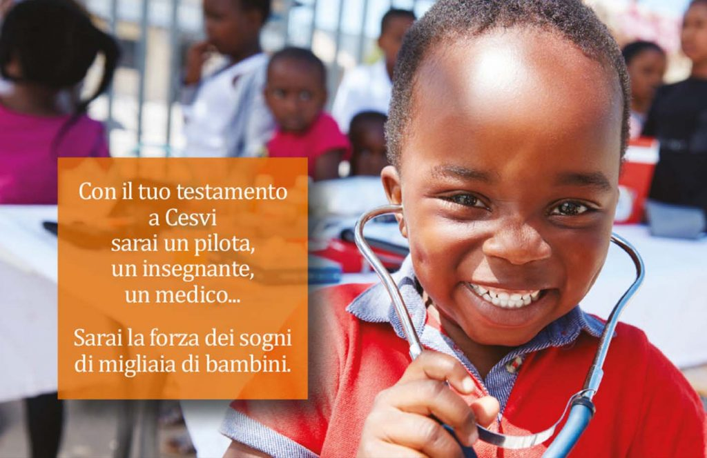 Sarai la forza dei sogni di migliaia di bambini: la campagna lasciti del CESVI