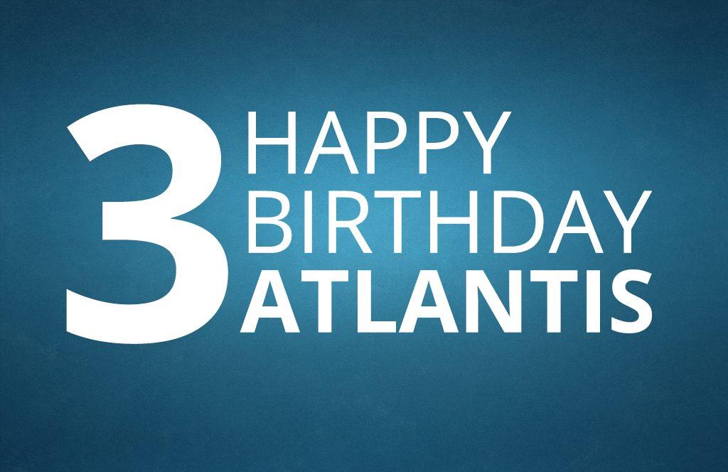 Buon compleanno Atlantis!