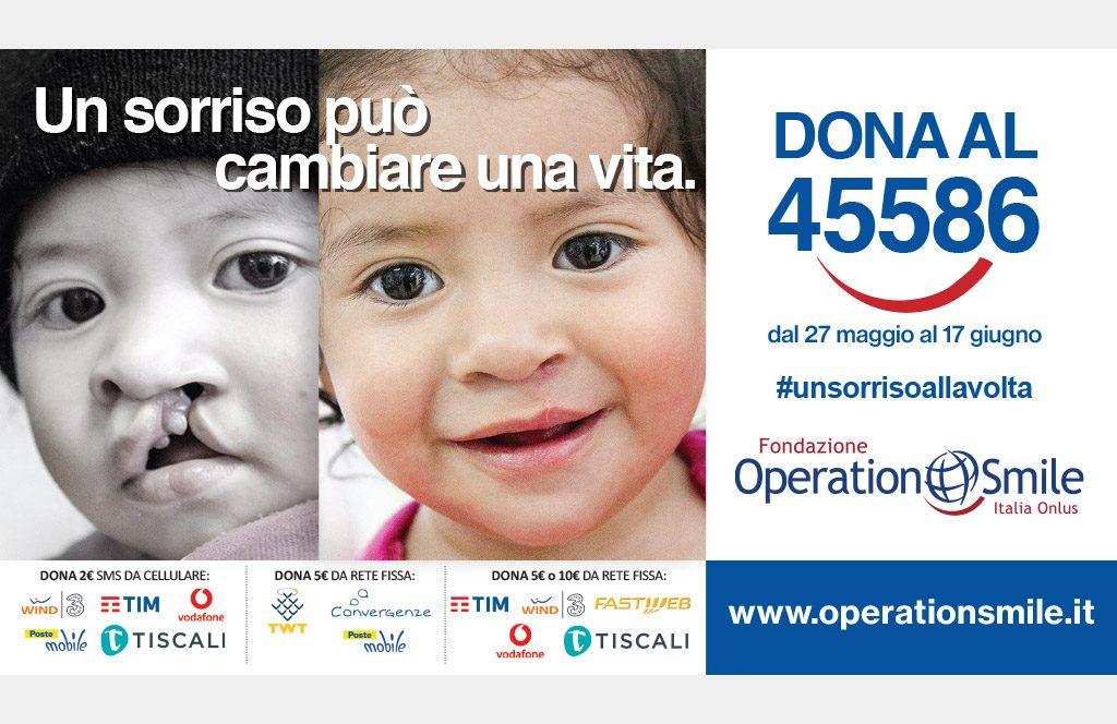 SMS che valgono sorrisi: la campagna sms solidale di Operation Smile