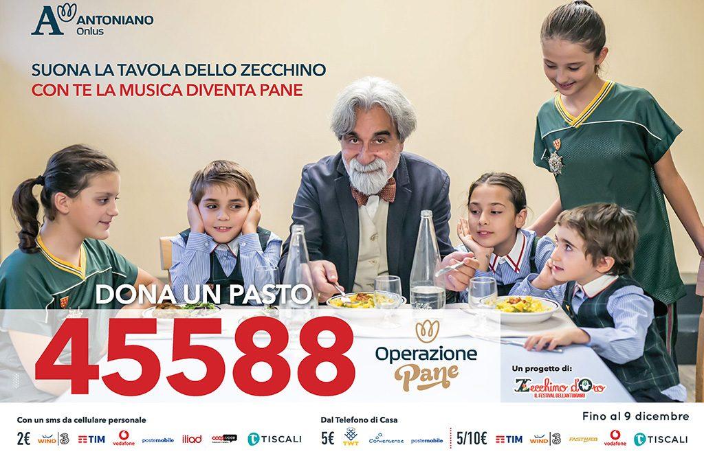 La musica diventa pane: la campagna sms di Antoniano onlus