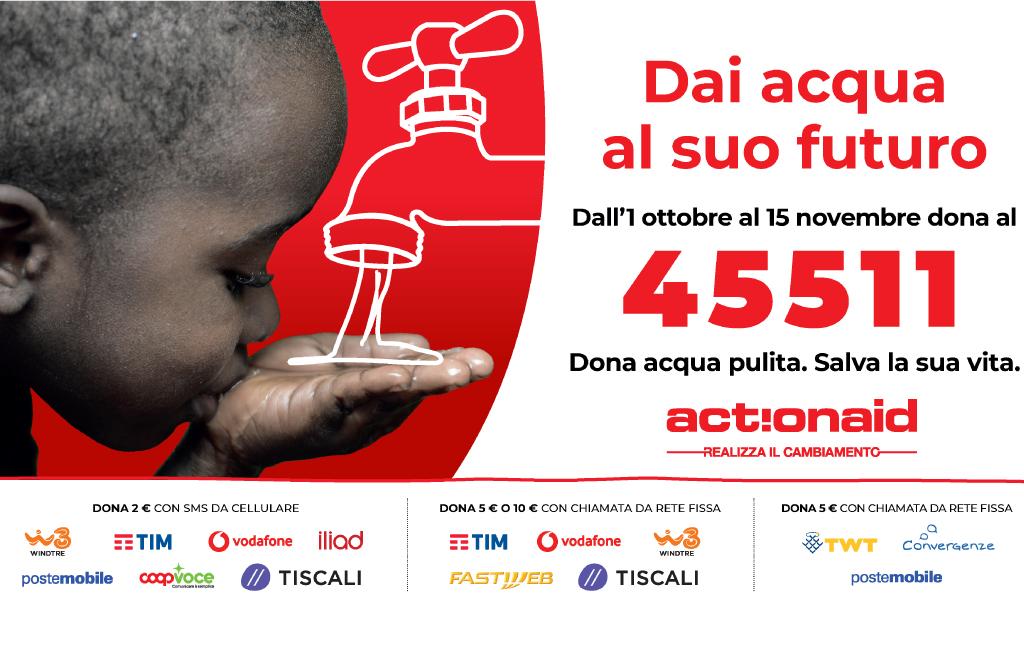 Torna la campagna sms solidale di ActionAid