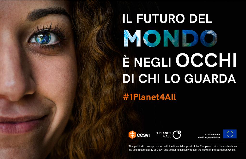 La campagna social di Cesvi sui cambiamenti climatici