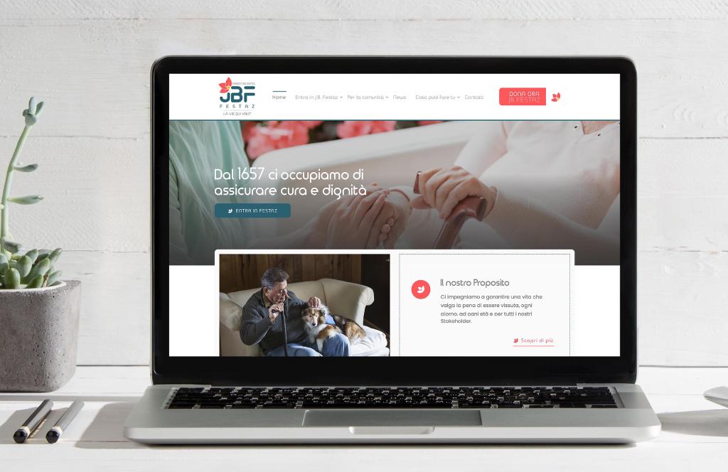 Nuovo sito e logo per J.B. Festaz